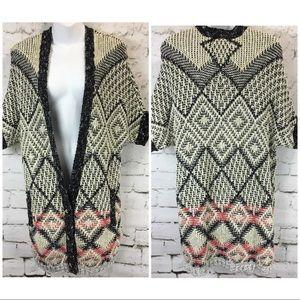 Cabi #202 Provence Short Sleeve Cardigan Sweater